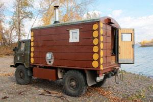 Бизнес-идея: баня на колесах